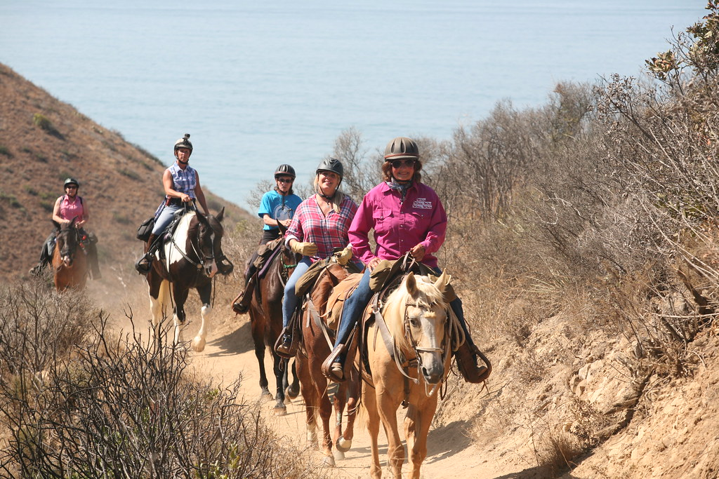 Horseback Riding With Ocean Views Ruth Gerson Is A Longtim Flickr