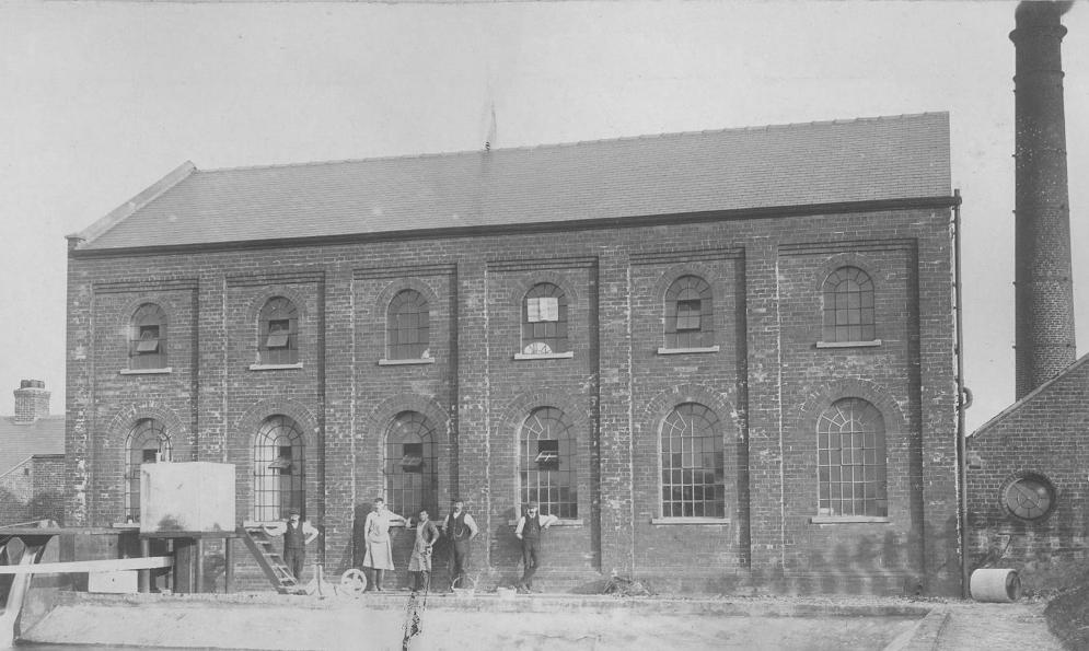 Bridlington Waterworks Pumping Station 1922 (archive ref DDX2031-3-1)
