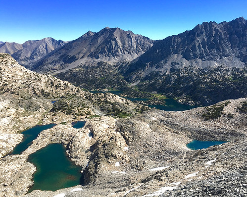 Rae Lakes From Pass | by wavesounds