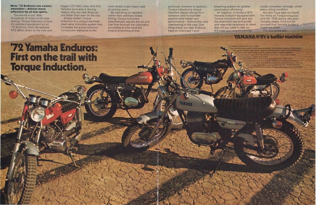 Yamaha enduros | speedfourjoe | Flickr