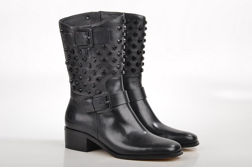 michael kors bryn boot stiefel mit nieten 40f4brmb7l kalbs. Black Bedroom Furniture Sets. Home Design Ideas