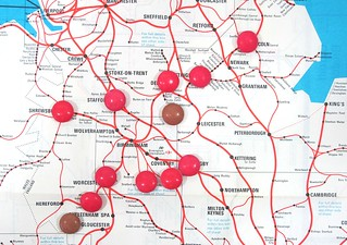 Midlands Map with Smarties | by Phil_Parker