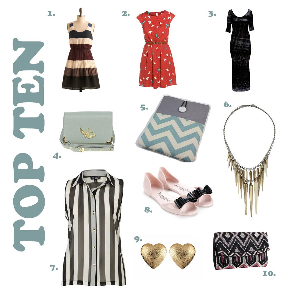 Top 10 things I love: Week 4