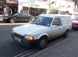 1991 Ford Escort 35 1.4 petrol van | by Spottedlaurel