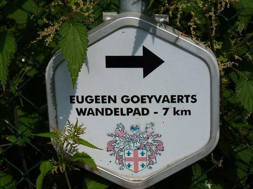Bordje Eugeen Goeyvaertspad