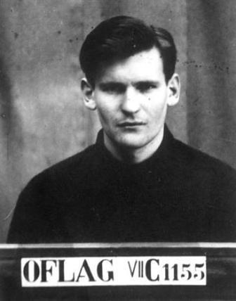 Peter Allan prisionero de Colditz