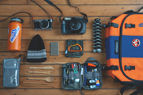 What's in my bag | by Cole Ewert