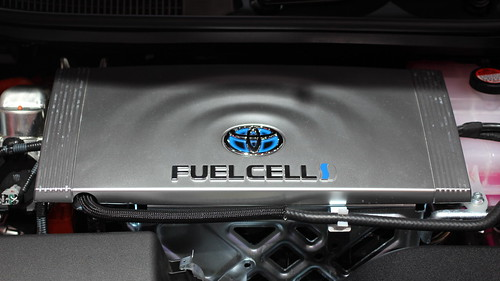 Toyota Mirai Fuel Cell Vehicle | by pestoverde