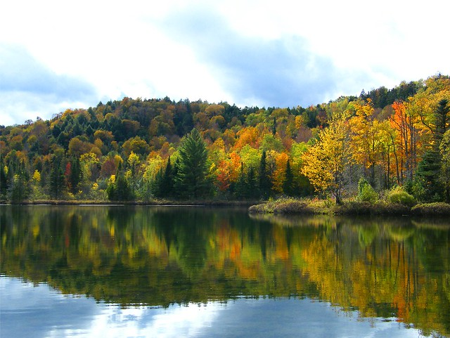New Hampshire Autumn Reflection