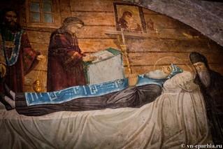 Литургия в храме Сергия Радонежского 100