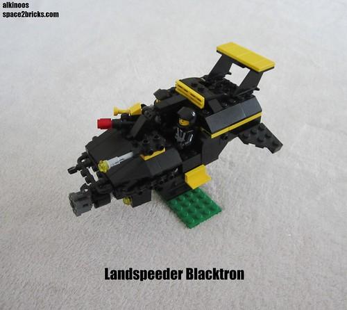 Landspeeder Blacktron p4