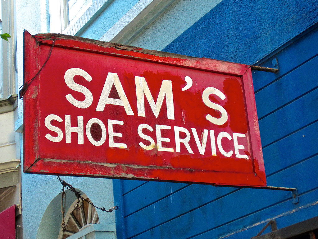 669e0f7a2d1a4 Sam's Shoe Service, San Francisco, CA | Sam's Shoe Service, … | Flickr