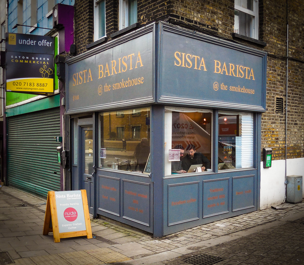 Sista Barista, Westminster Bridge Road