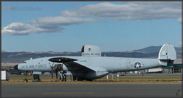Lockheed Constellation at Helena,MT
