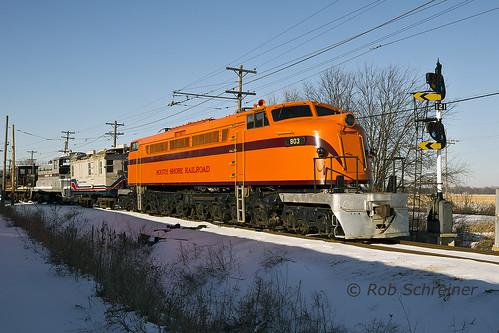 railroad train union il
