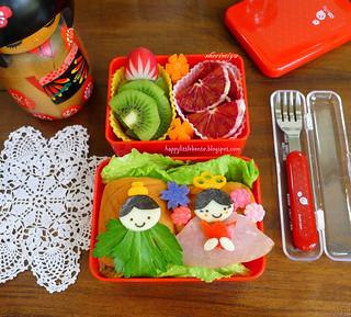 Hinamatsuri Girls' Day Bento! | by sherimiya ♥