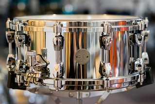 Tama Starphonic Steel 40th Anniversary Snare Drum 14X6 | by sfmill13