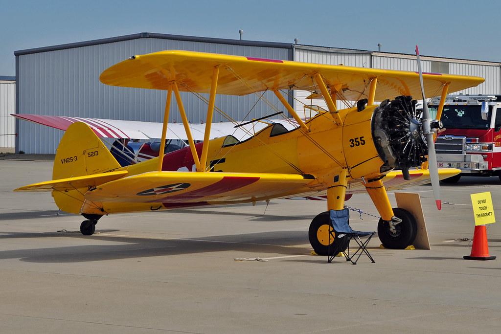 A75L300 Stearman c/n 75-5962   1942 Boeing Stearman A75L300