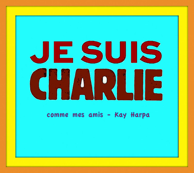 I'm following Charlie / I'm with Charlie / I'm supporting Charlie