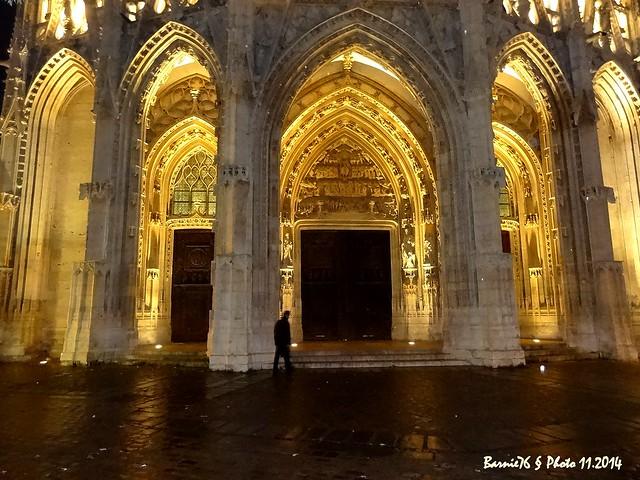 Eglise  Saint Maclou, les portails