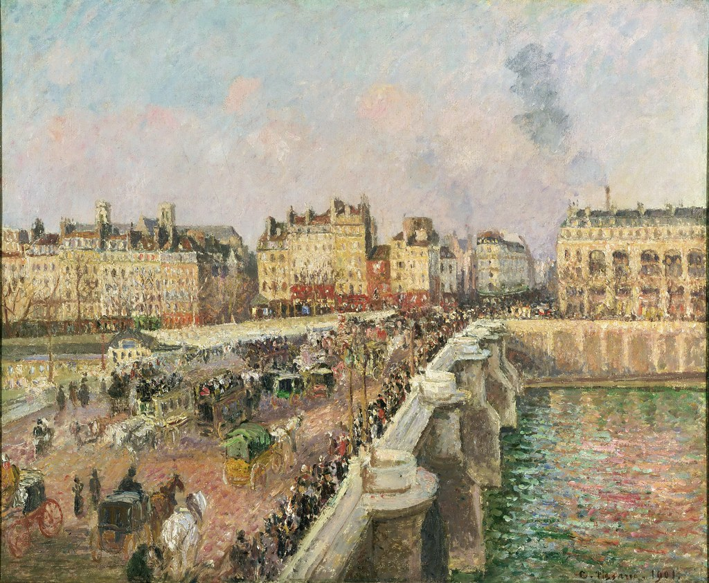Image result for Afternoon Sunshine, Pont Neuf (1901)