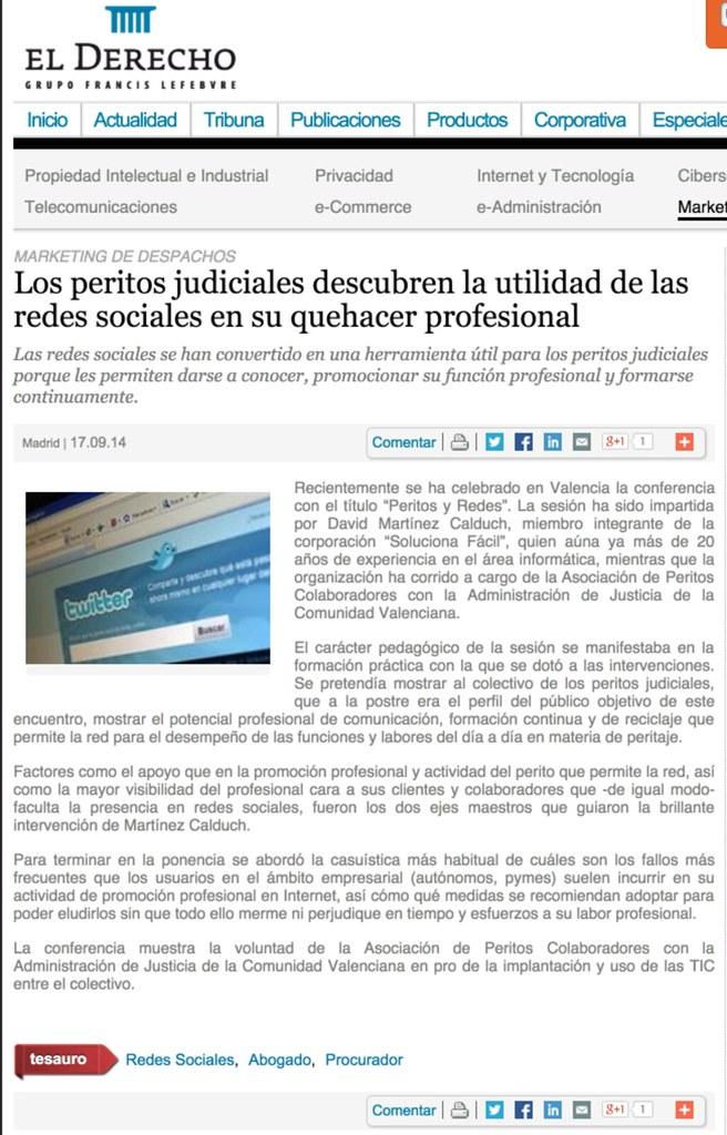 2014-09-17 Conferencia Colegio de Peritos de Valencia
