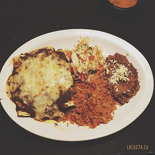Mexican food to celebrate danibenitez 's birthday at La Casita Gastown in Vancouver BC
