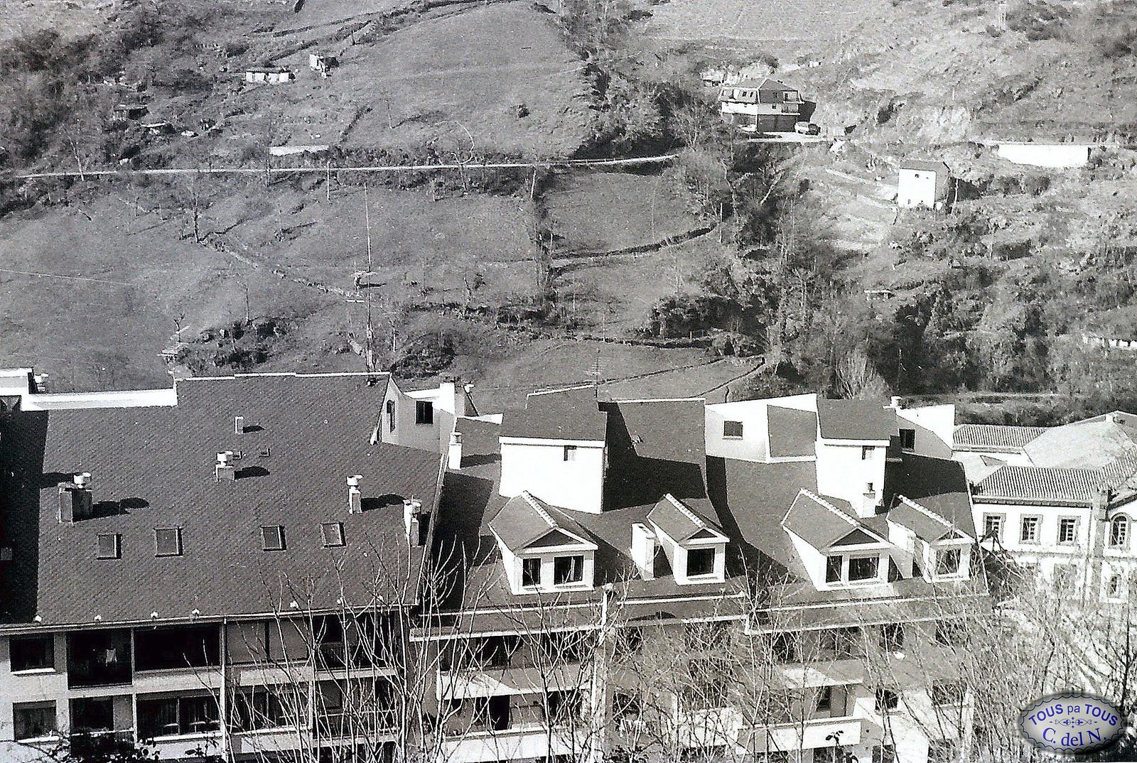 1985 - Vista parcial desde La Cogolla