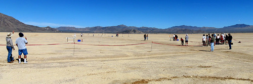 panorama lake roc desert dry mojave photostich modelrockets lakelucerne hugin rocketryorganizationofcalifornia
