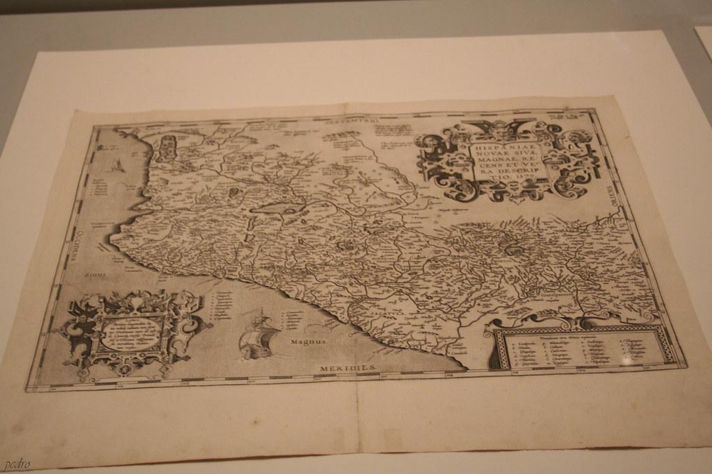 Mapa De Nueva España Siglo Xvi.Mapa De La Nueva Espana Siglo Xvi Pedro Francisco