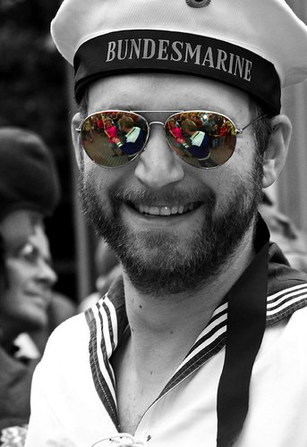 Gay sailor in Reykjavik 2006 | by olikristinn