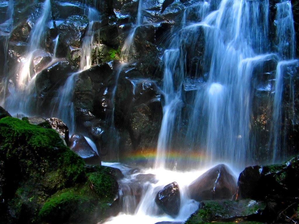 Rainbow Falls by back to Carol Kathleen