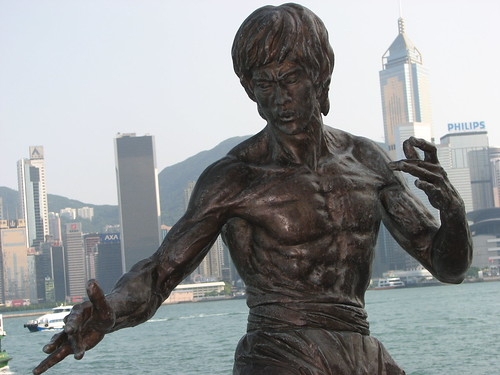 Bruce Lee Statue, Hong Kong | by Ian Muttoo