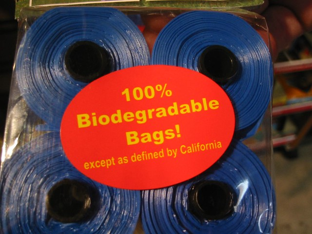 100% Biodegradable Bags!