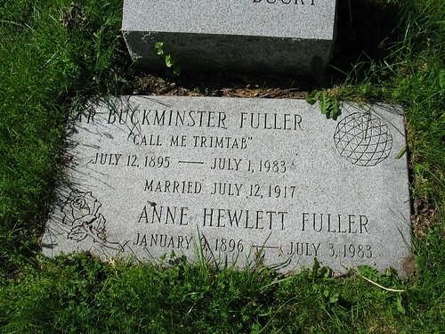 R. Buckminster Fuller Gravestone | by VTscapes