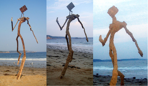 stickman-->sandman   by sandcastlematt