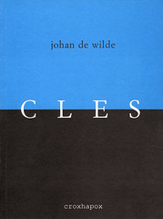 Particles<br /> Johan De Wilde<br /> isbn 90-76593-03-5<br /> D/2006/8545/2<br /> may 2006</p> <p>front