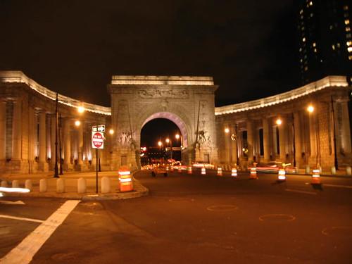 Manhattan Bridge Arch | by carlos.a.martinez