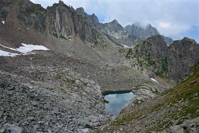 Trekking Valle Verzasca – Valle Leventina 23-28 luglio 2018  Sesta tappa 28 luglio 2018 Capanna Leìt 2'257m – Rifugio Garzonera  2'003m – Ambri Piotta 980m