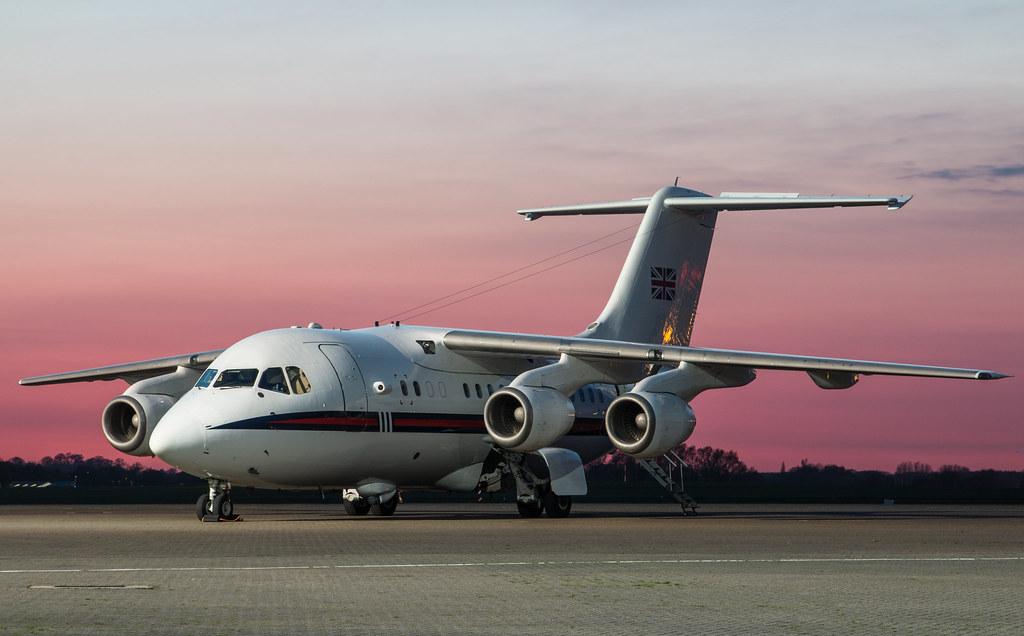 EGWU - BAe Systems 146 - Royal Air Force - ZE701