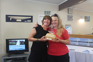 Shaaron McKee Queen of the River and Chantal Grass   by PLSC (Panmure Lagoon Sailing Club)