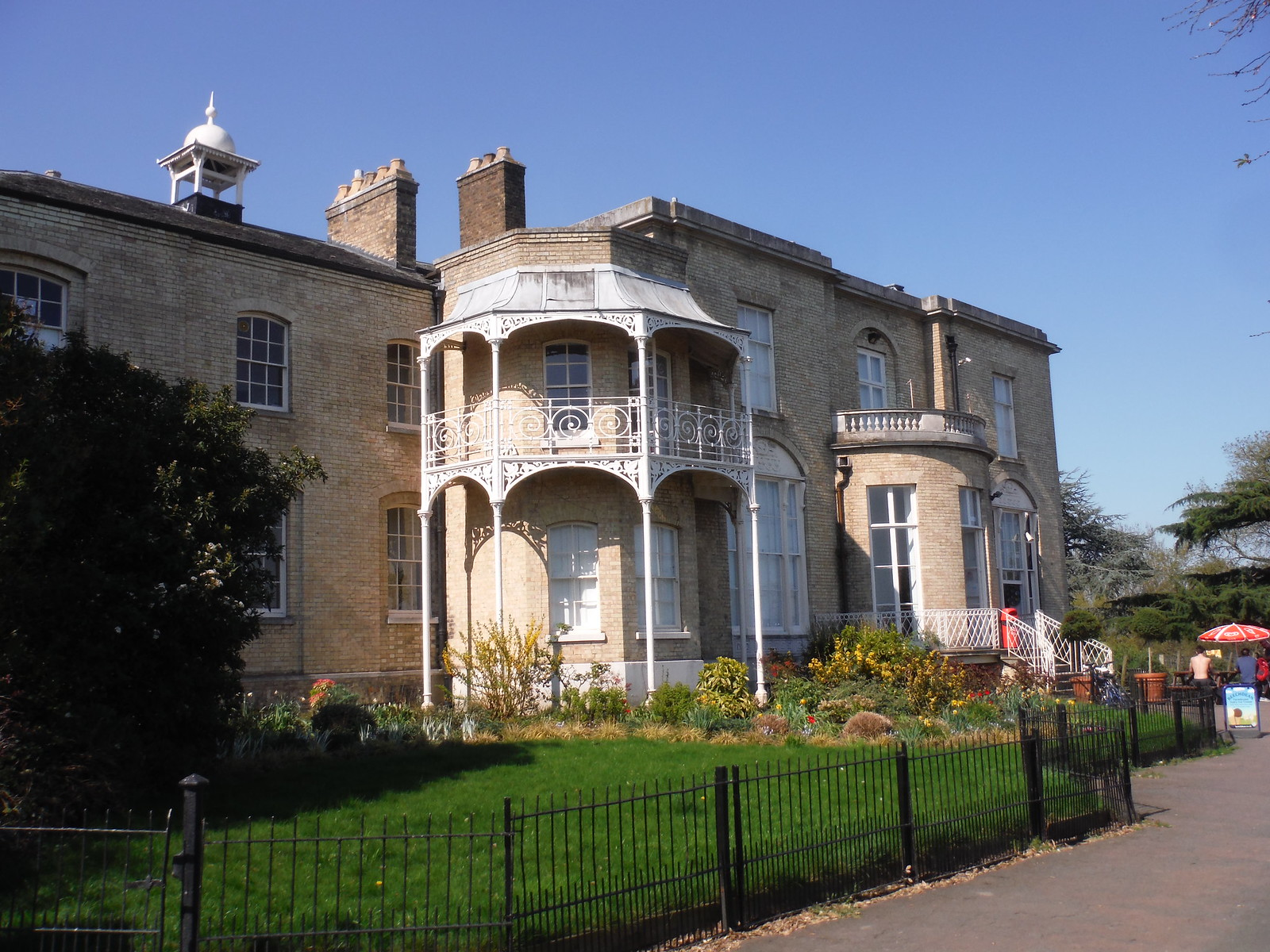 Brockwell Hall Cafe SWC Short Walk 39 - Brockwell Park (Herne Hill Circular or to Brixton)