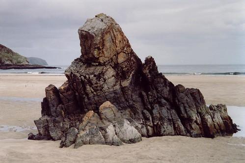 Beach Rock Sculpture - Housel Bay, The Lizard, Cornwall