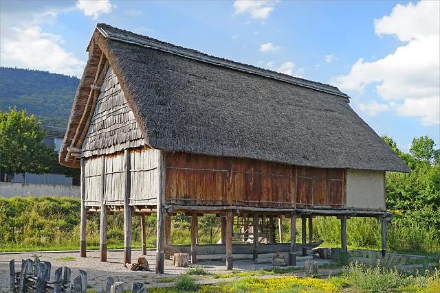 Maison de la fin de l'âge du bronze (Hauterive, Suisse)