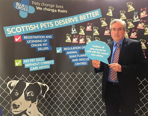 Backing Scottish Pets Deserve Better campaign   by Iain Gray MSP