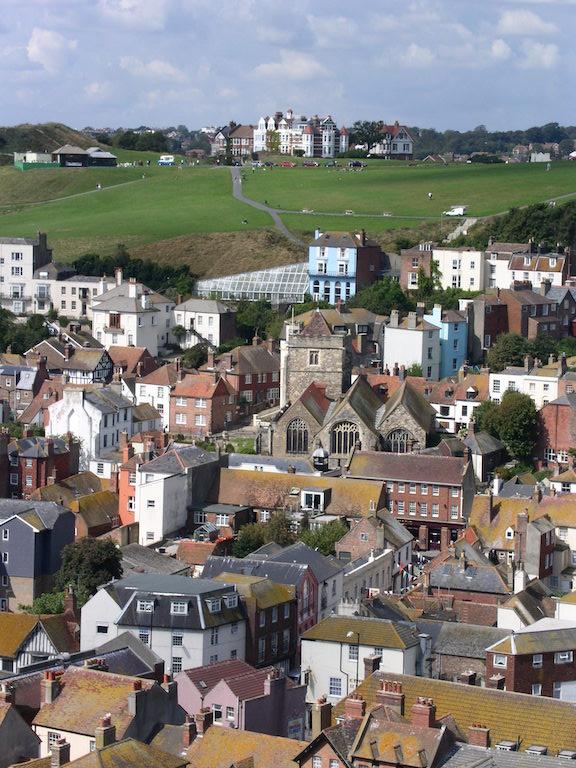 Hastings old town Winchelsea to Hastings via Three Oaks walk