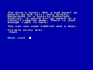 Grue-Knapped (Amstrad CPC)   by Deep Fried Brains