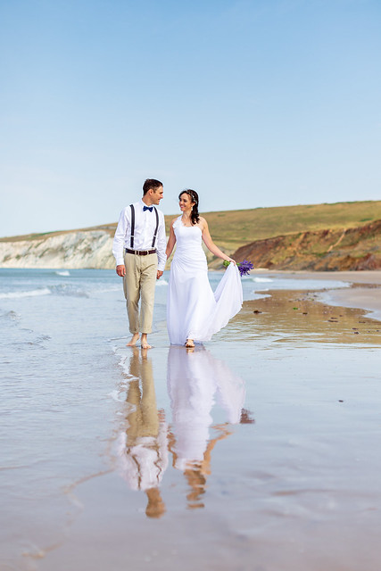 Wedding Shoot, Compton Beach, Isle of Wight - IMG_2409