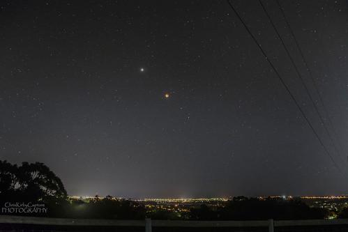 eclipse 2018 planets stars astro night sky adelaide southaustralia southernhemisphere