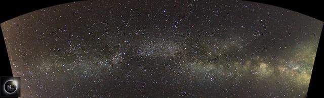Milky Way Panorama from Lyme Regis 03/08/18